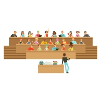 students-listening-in-a-lecture-hall-in-university-vector-16435166